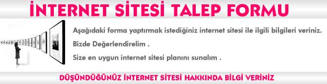 internet sitesi talep formu